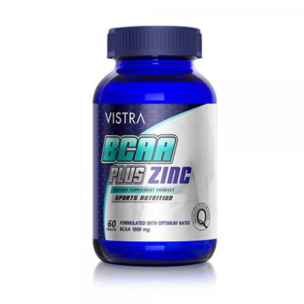 VISTRA BCAA plus ZINC (60 Tablets)